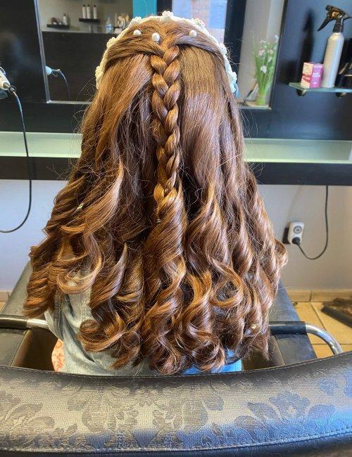 Hair Explosion Haarmode communie
